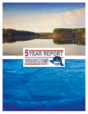 cover of mwra's 5 year report 2010